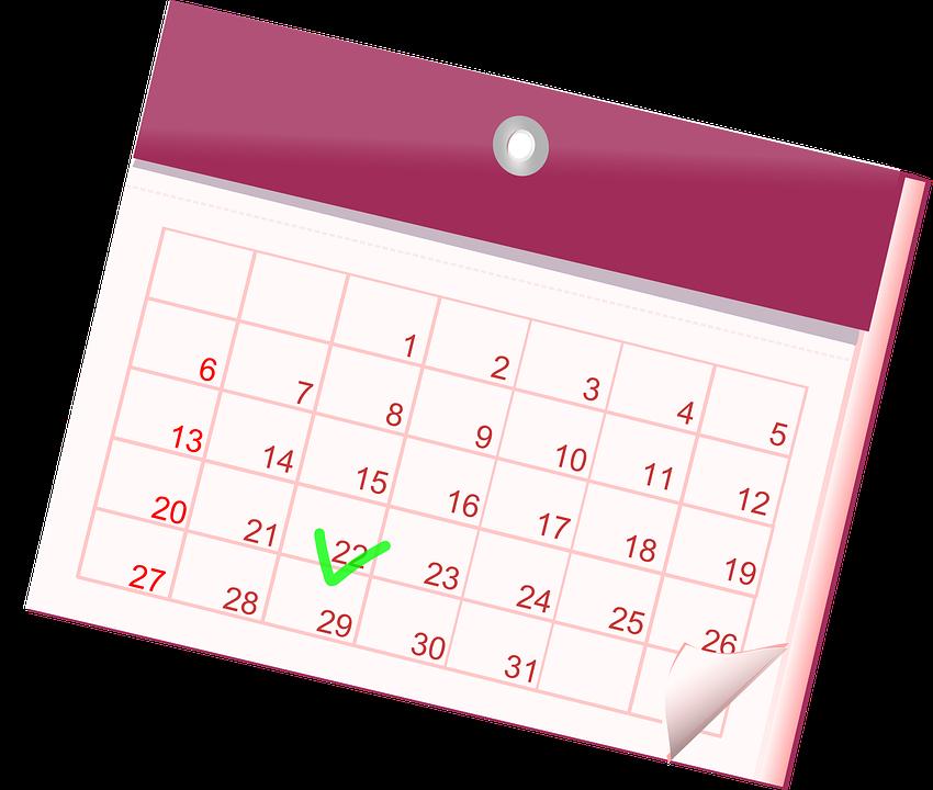 calendar-159098_960_720