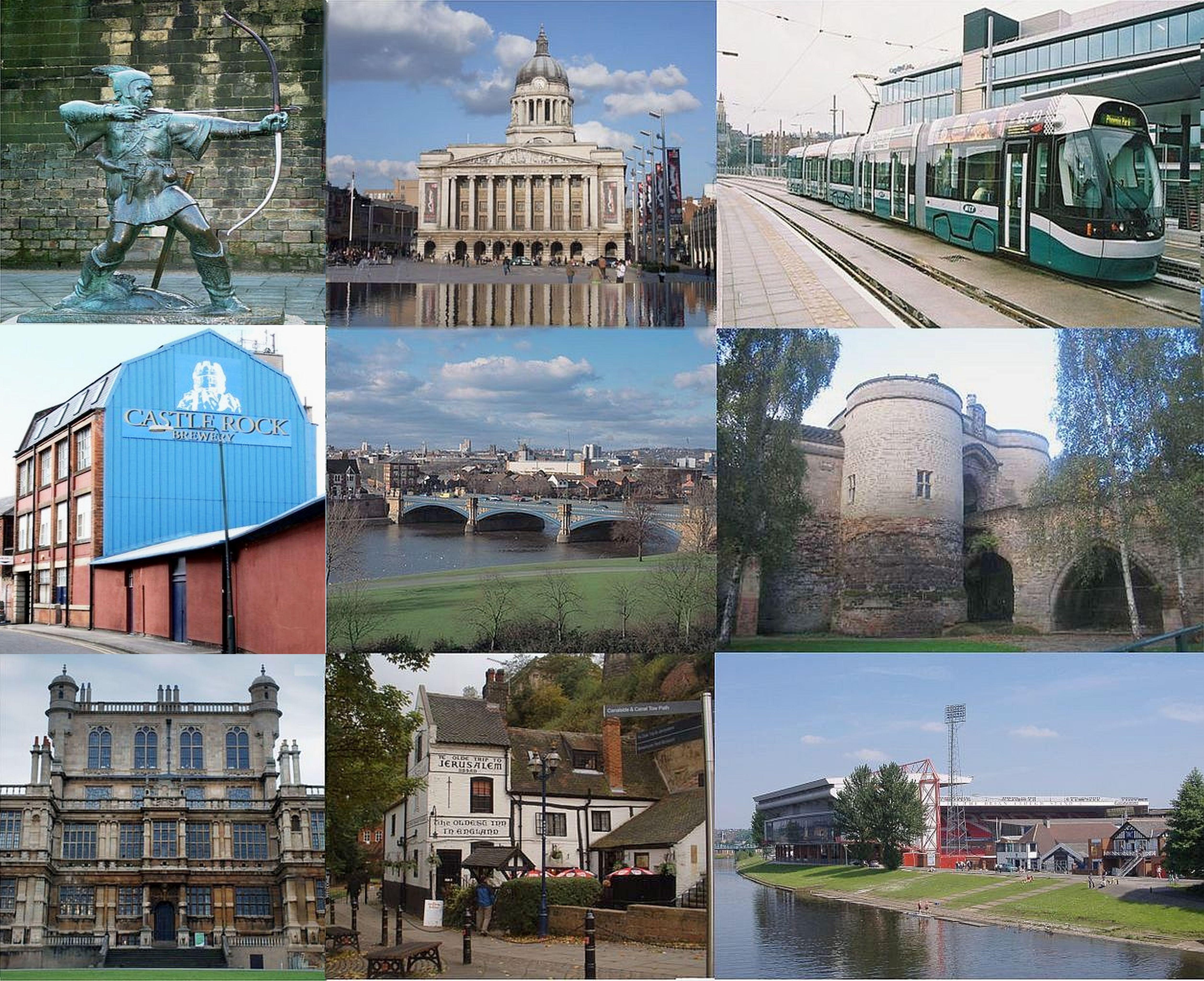 Nottingham_montage