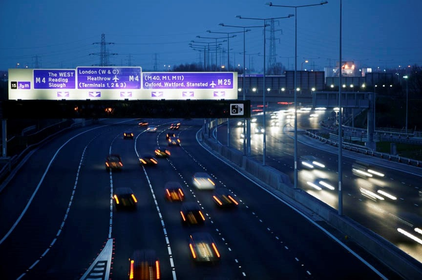 Bristol-London-M4-Motorway