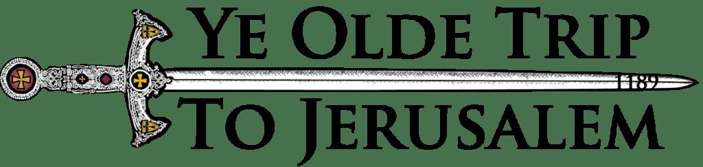 Ye Olde Trip To Jerusalem Logo