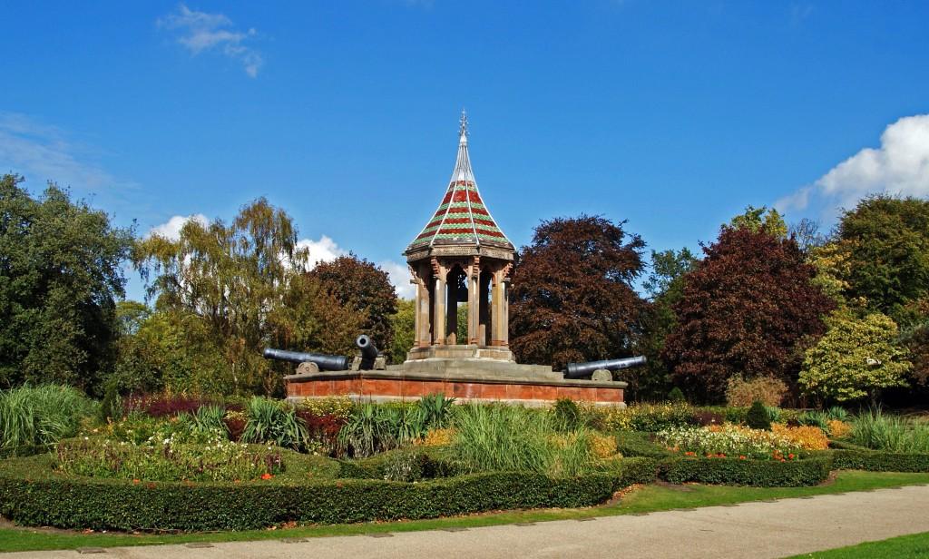 Nottingham Arboretum park